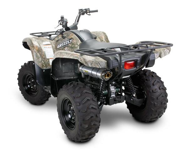 Yamaha Grizzly 700 M7 Slip-On System (2008-2013) – Two ...  Yamaha Grizzly Symbol